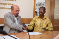 Students from Ghana will study at Kalashnikov ISTU